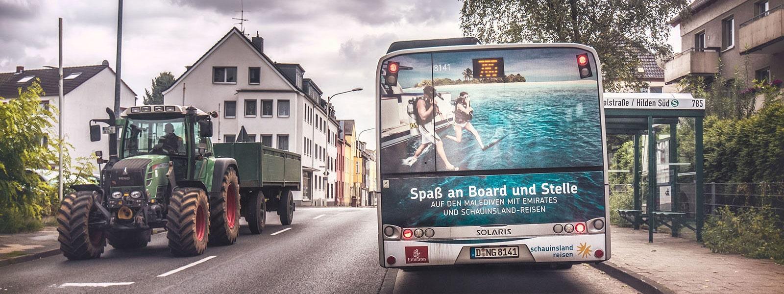 Leverkusen-Buswerbung-Heckwerbung